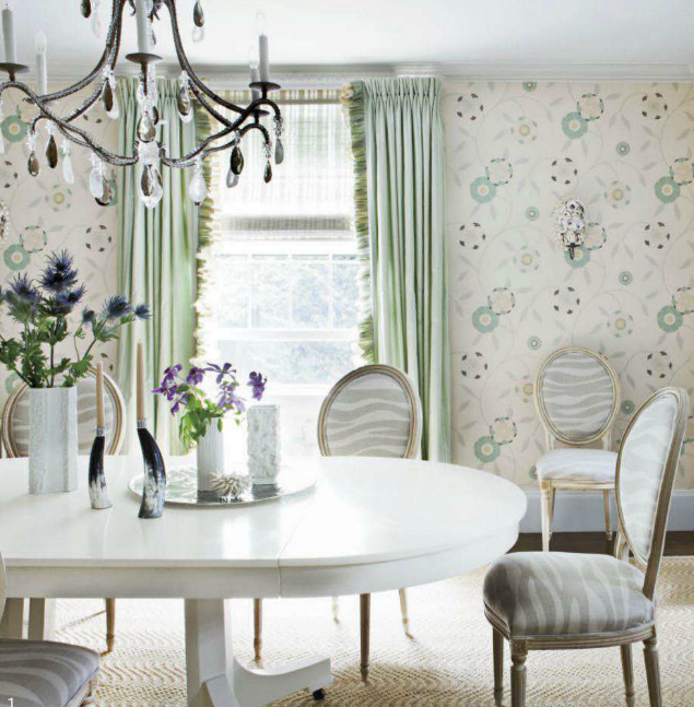 the beautiful dining room above is from the home of interior designer laura wilmerding before opening the shop i had the pleasure - House Beautiful Dining Rooms