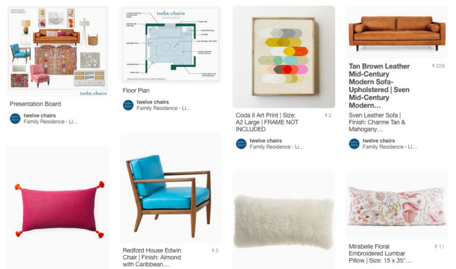Personalized Design Package | Pinterest Board