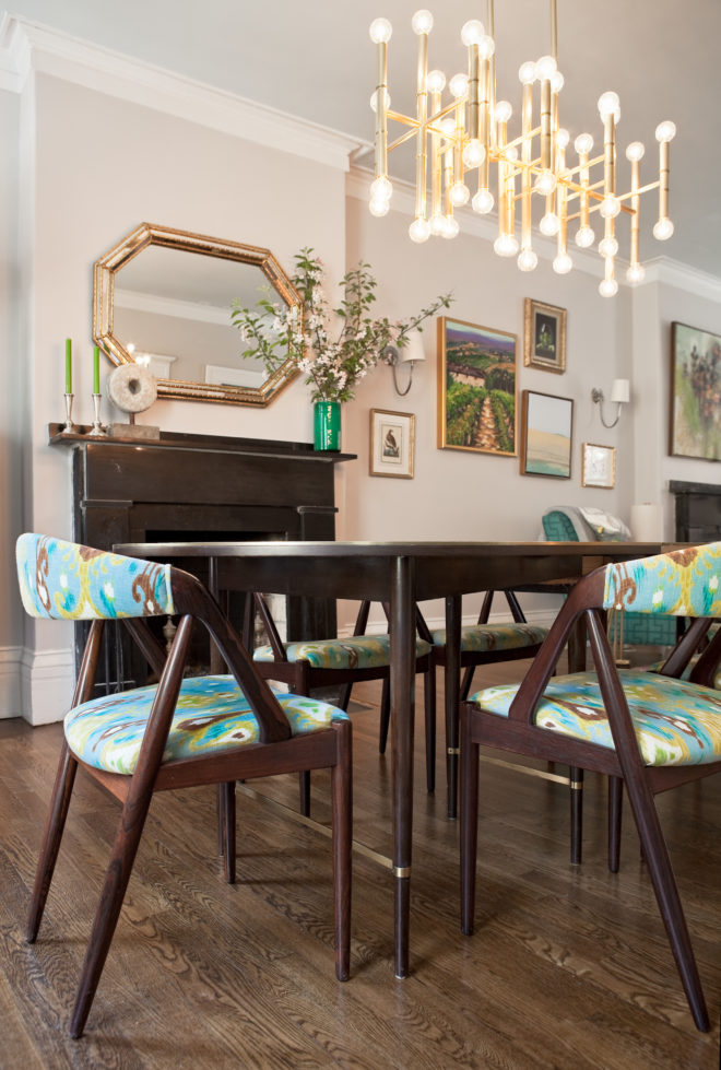Twelve Chairs Boston | Portfolio | South End Townhouse