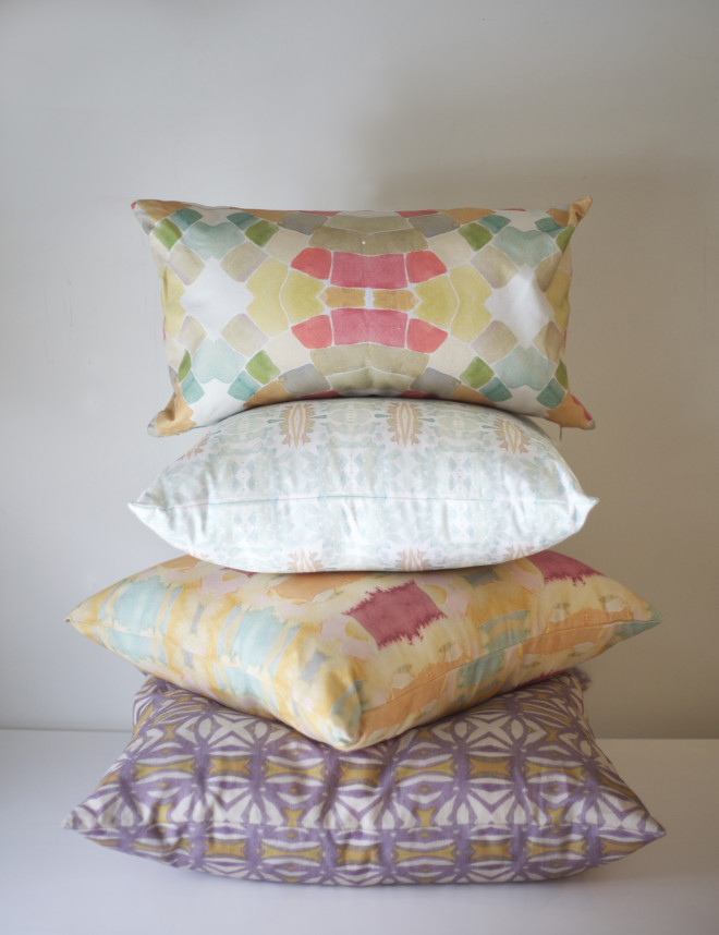 bunglo pillows stack