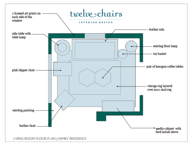 Personalized Design Package | Floor Plan